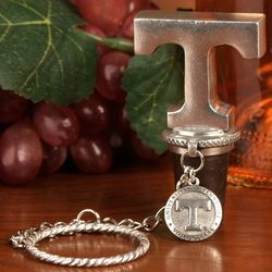 Tennessee Volunteers Pewter Wine Stopper