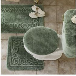 Scroll Bath Rug Set