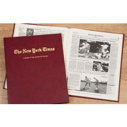 New York Times Royals Fan Personalized Team Book