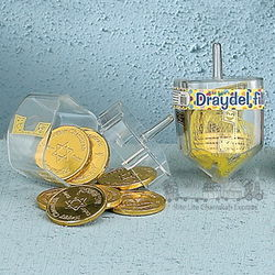 Children's Hanukkah Dreidel Gift Set