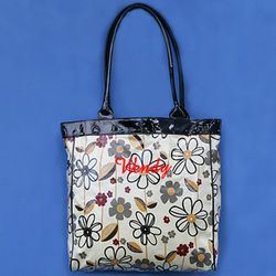 Laminated Fabric Graphic Tote