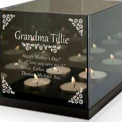 Grandmother Personalized Tealight Candleholder
