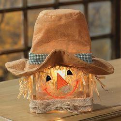 Scarecrow Glass Block Lamp