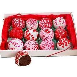Valentine's Cake Truffles Gift Box