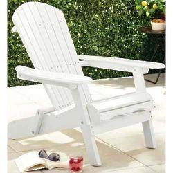 Painted Folding Adirondack Chair