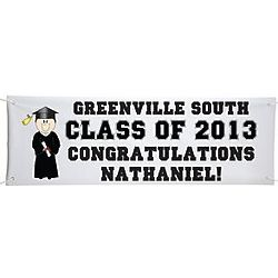 Personalized Graduation Character Banner