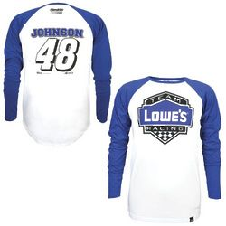 Jimmie Johnson #48 Varsity Baseball Jersey