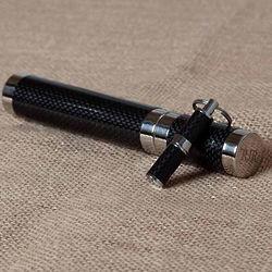 Carbon Fiber Cigar Tube and Punch Set