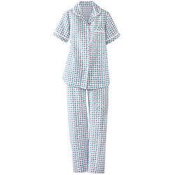 Women's Eyelet Trim Pajamas