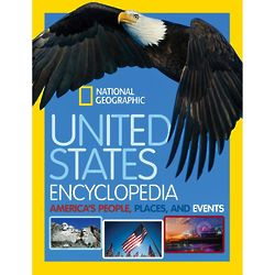 United States Encyclopedia - America's People, Places Events Book