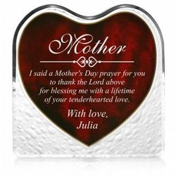Mother's Day Heartfelt Plaque