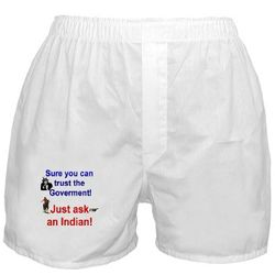 Trust the Goverment Boxer Shorts