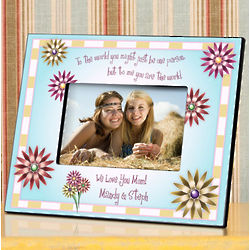 Personalized World Poem Picture Frame