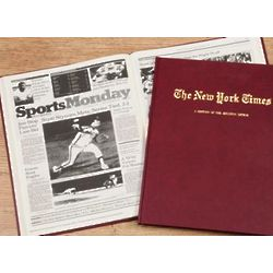 New York Times Houston Astros Personalized Team Book