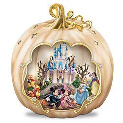 Disney Halloween Pumpkin Centerpiece with Motion and Lights