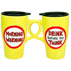 Morning Warning Travel Mug