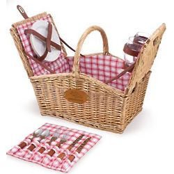 Denver Broncos Piccadilly Willow Picnic Basket