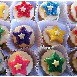 Sugar Crisp Star Sandwich Cookies
