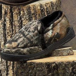 Camouflage Fleece Slippers