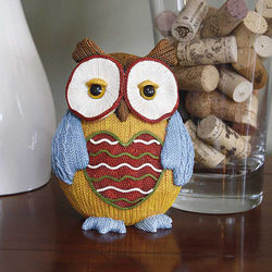 Heart Accent Owl Figurine