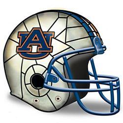Auburn Tigers Football Helmet Lamp