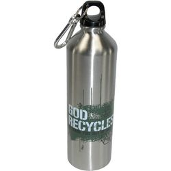 Christian Art God Recycles Stainless Steel Water Bottle