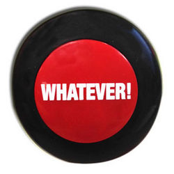 Whatever! Button Office Toy