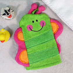 Butterfly Bath Time Wash Mitt