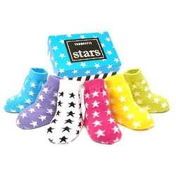 Star Socks for Baby Girls