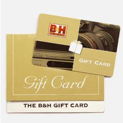 B&H Photo-Video Gift Card