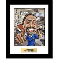 Doctor Custom Caricature Art