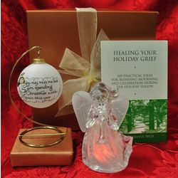 """Christmas with Jesus"" Sympathy Gift Basket"