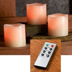 Remote Control Pillar Candles