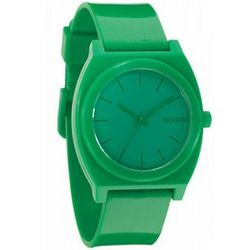 Green Nixon Time Teller P Watch