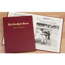 New York Times Marlins Fan Personalized Team Book