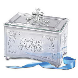 Reflections of God's Love Inspirational Mirrored Music Box