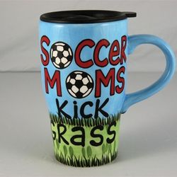 Soccer Moms Travel Mug