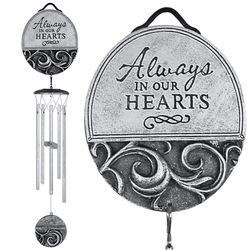 In Our Hearts Memorial Wind Chime