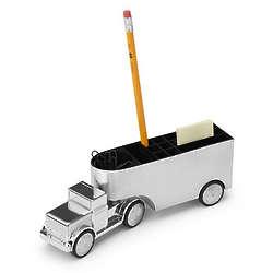 Office Trucker Mechanical Paperweight
