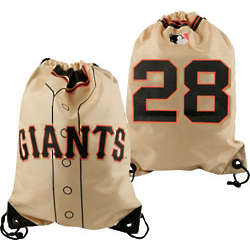 San Francisco Giants Drawstring Backpack