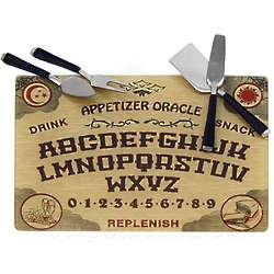 Ouija Cheese Board Set