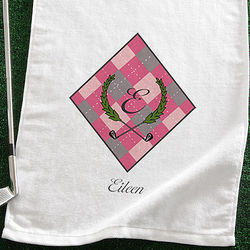Ladies Personalized Golf Towel