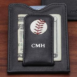 San Francisco Giants Baseball Money Clip Wallet