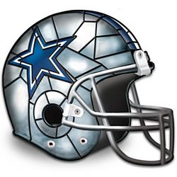 Dallas Cowboys Football Helmet Accent Lamp