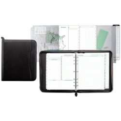 Simulated Leather Binder, Calendar, and Organization Starter Set
