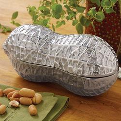 Cast Aluminum Peanut Dish