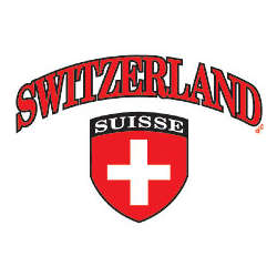 Switzerland Flag Crest Adult T-Shirt