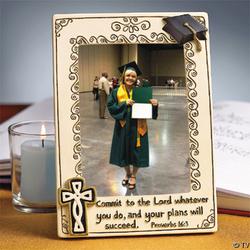 Religious Graduation Frame