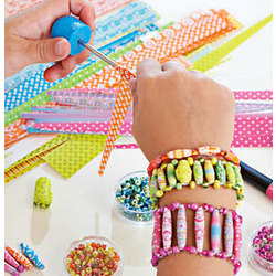 Rolled Paper Beads Craft Kit