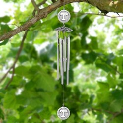 Tennessee Volunteers Pewter Wind Chime